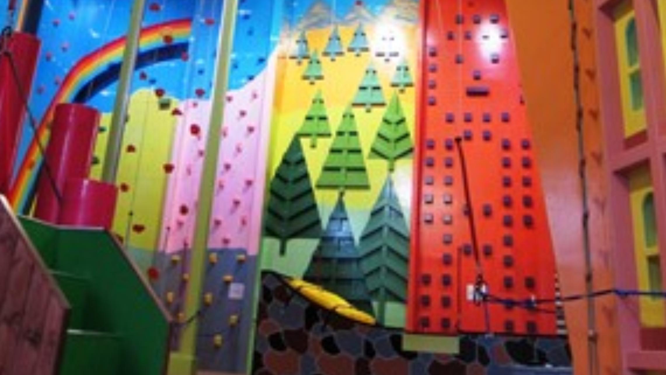 北海道のクライミング施設「クライミングランド のぼのぼ」